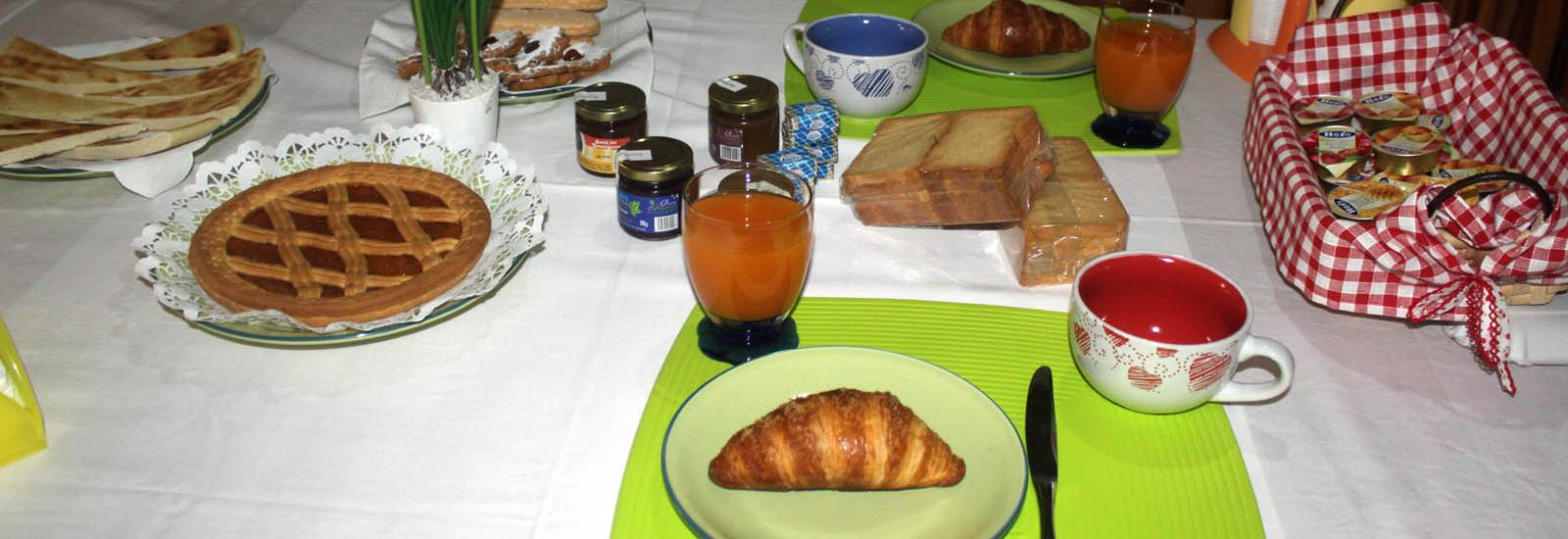 Colazione in Bed and Breakfast ad Orgosolo