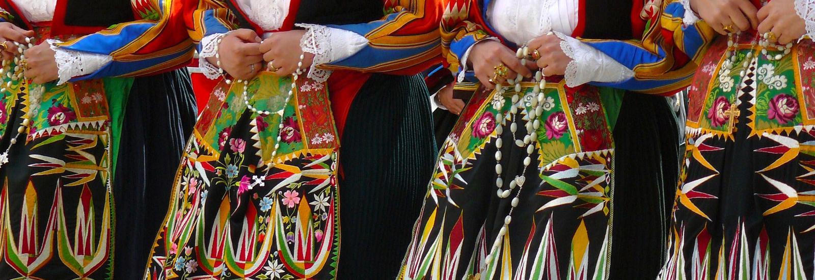 Costume tipico femminile di Orgosolo